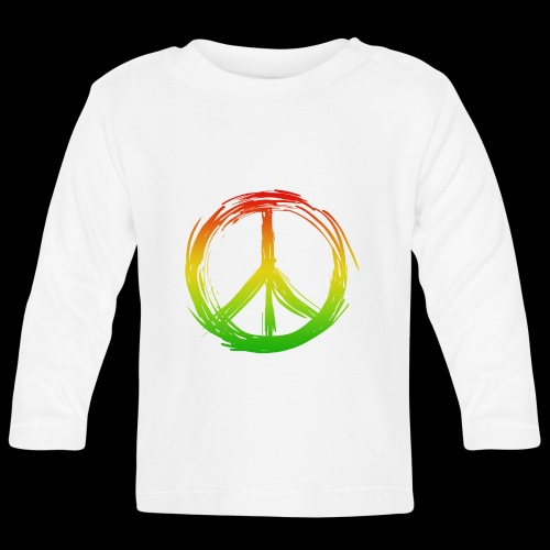 PEACE by UNDERGROUNDSOUNDSYSTEM - Baby Langarmshirt