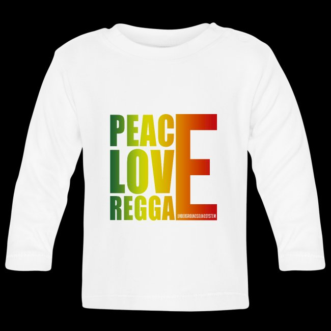 PEACE LOVE REGGAE
