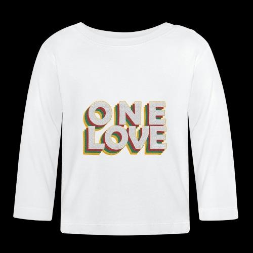 ONE LOVE - Baby Langarmshirt