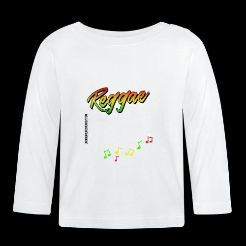 Reggae - Catch the Wave - Baby Langarmshirt