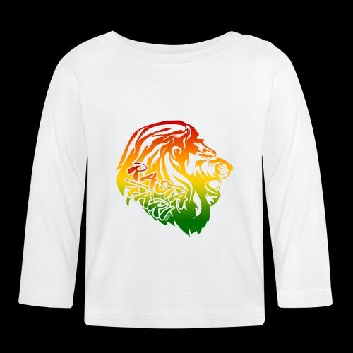 RASTA FARI LION - Baby Langarmshirt