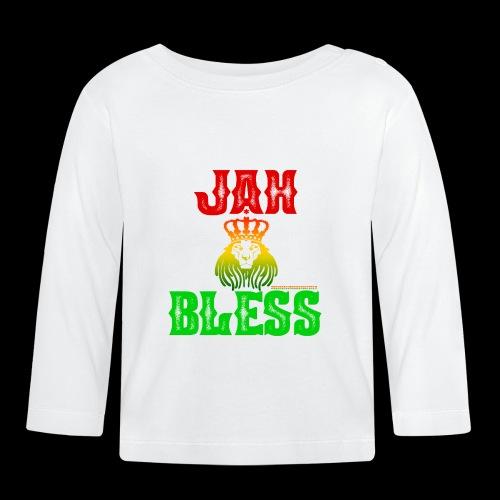 JAH BLESS RASTAFARI - Baby Langarmshirt