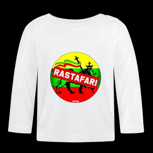 RASTAFARI BANNER - Baby Langarmshirt