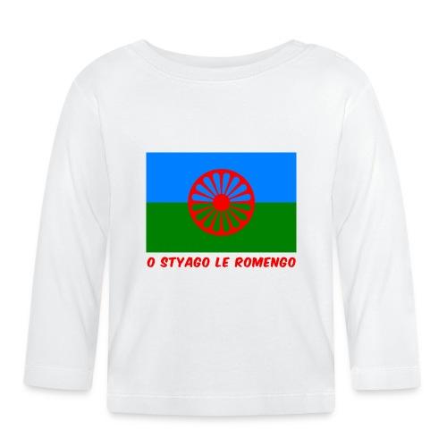 o styago le romengo flag of romani people t-shirt - Maglietta a manica lunga per bambini
