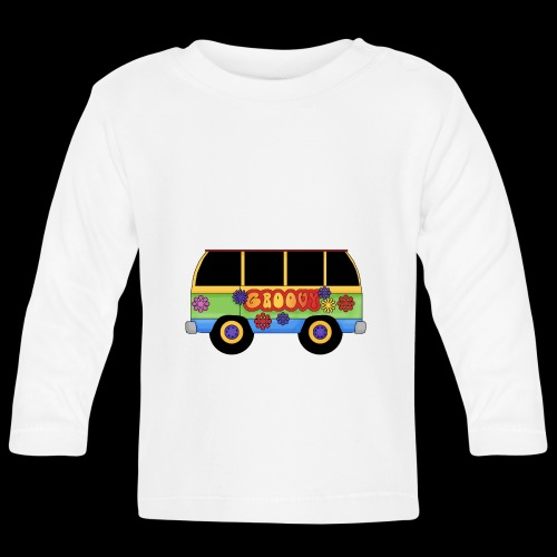 GROOVY BUS - Baby Long Sleeve T-Shirt