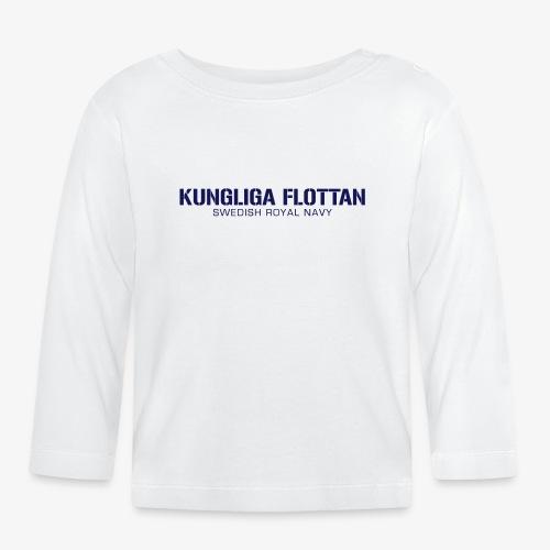 Kungliga Flottan - Swedish Royal Navy - Långärmad T-shirt baby