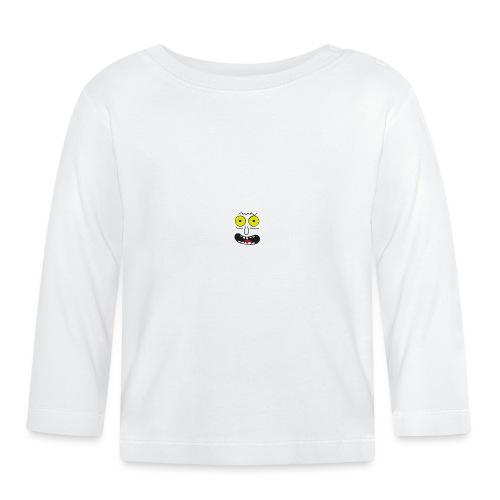 lustiges Gesicht Faschingskostüm - Baby Langarmshirt
