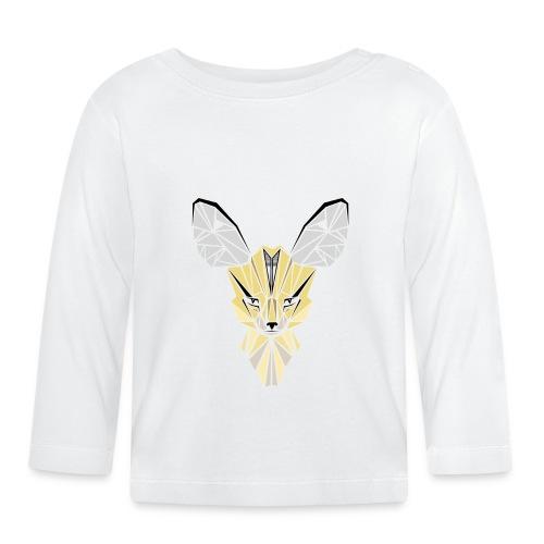 fennec contour png - T-shirt manches longues Bébé