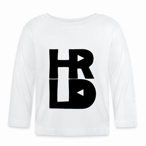 HRLD Black Logo - Vauvan pitkähihainen paita