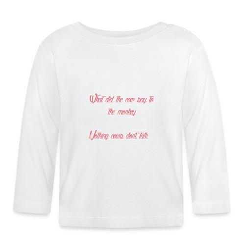 The T shirt of glory - Baby Long Sleeve T-Shirt