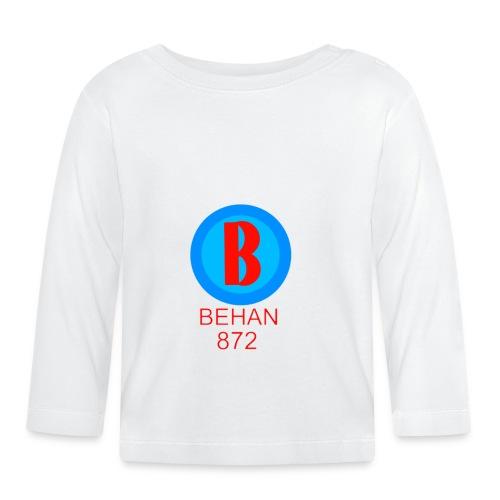 Rep that Behan 872 logo guys peace - Baby Long Sleeve T-Shirt