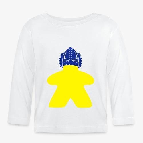 Keep calm and boardgame o - Langarmet baby-T-skjorte