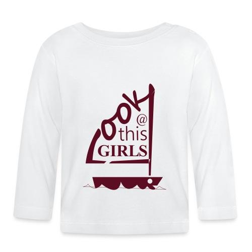 AndriesBik look thisGIRLS shirt witteletters - T-shirt