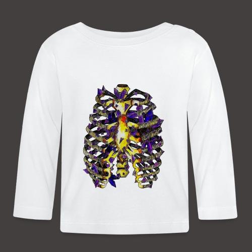 La Cage Thoracique de Cristal Creepy - T-shirt manches longues Bébé