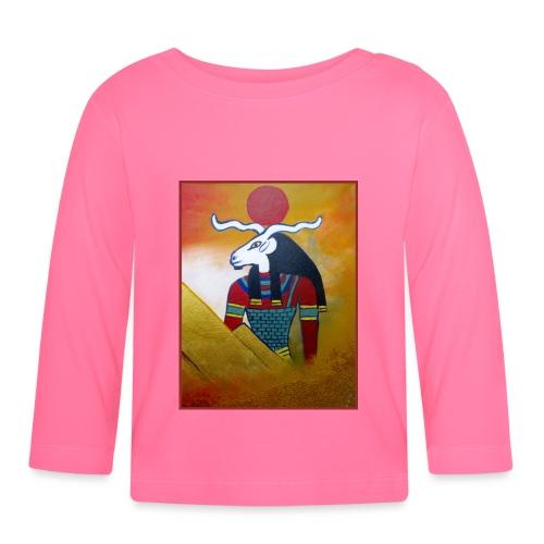 CHNUM Gottheit I Altes Ägypten - Baby Langarmshirt