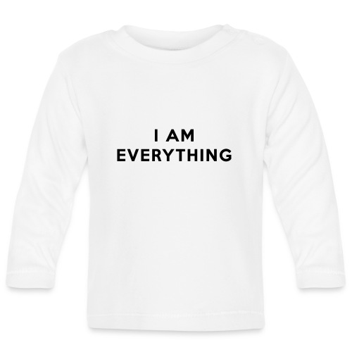 Couple Shirt - I AM EVERYTHING - Baby Langarmshirt