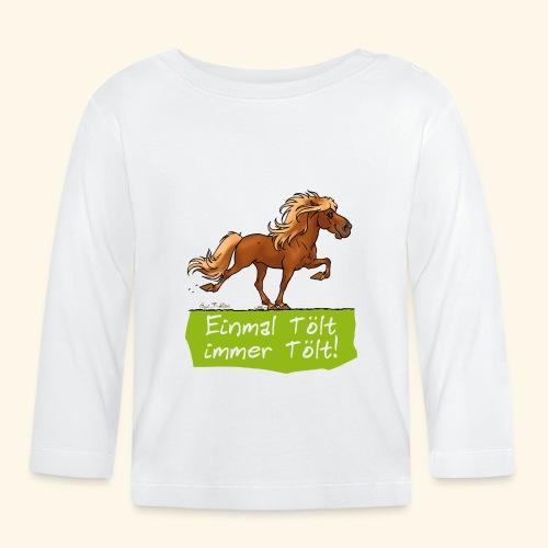 Island Pferd Tölt - T-shirt manches longues Bébé