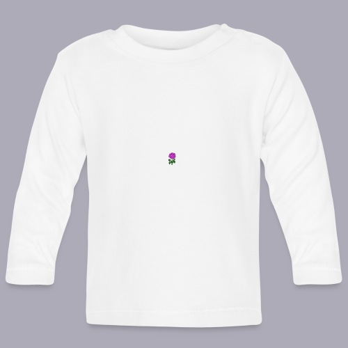 Landryn Design - Pink rose - Baby Long Sleeve T-Shirt