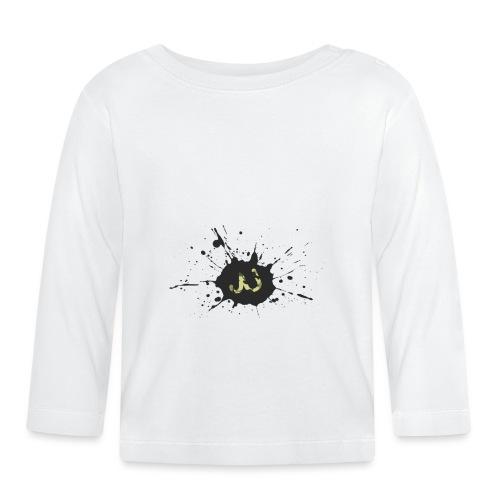 JU spray logo - Vauvan pitkähihainen paita
