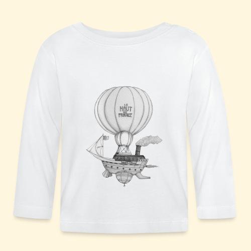 Bateau volant steampunk - Le Haut de France - T-shirt manches longues Bébé