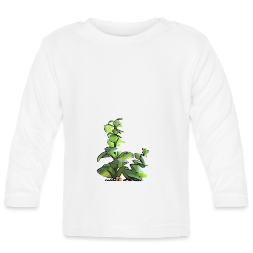 BabyCute 'Cactus Sunlight' by Isobel & Kristoff - Baby Long Sleeve T-Shirt