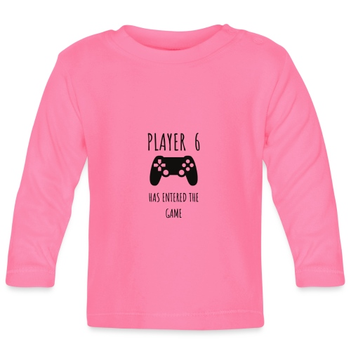 Player 6 - Baby Long Sleeve T-Shirt