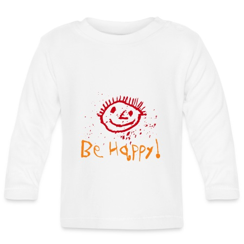 behappy png - Baby Langarmshirt