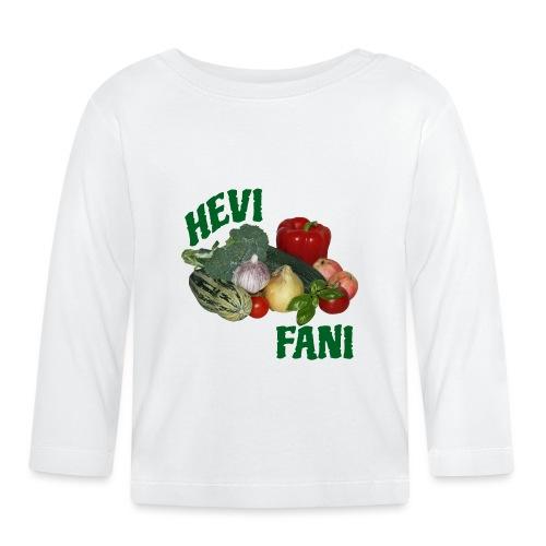 Hevi-fani - Vauvan pitkähihainen paita