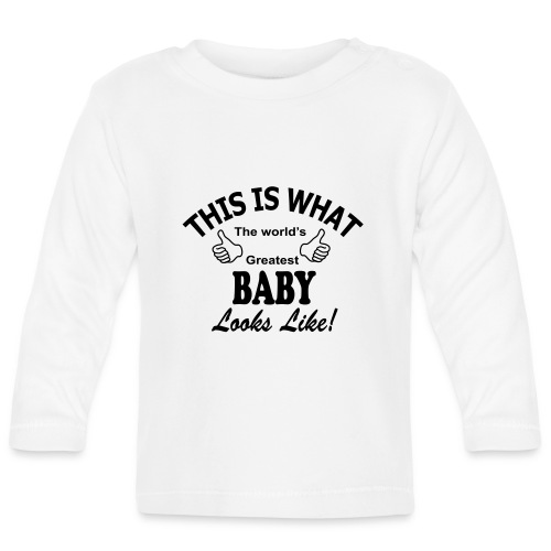 baby world's greatest - T-shirt