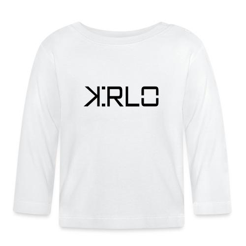 Kirlo Logotipo Negro - Camiseta manga larga bebé