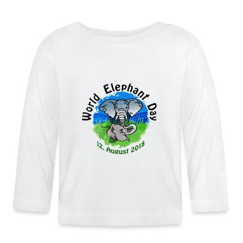 World Elephant Day 2018 - Baby Langarmshirt
