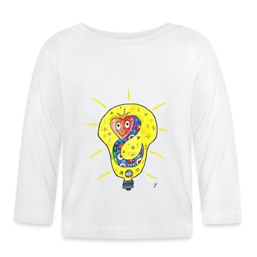 Happy Questionsnake - Baby Langarmshirt
