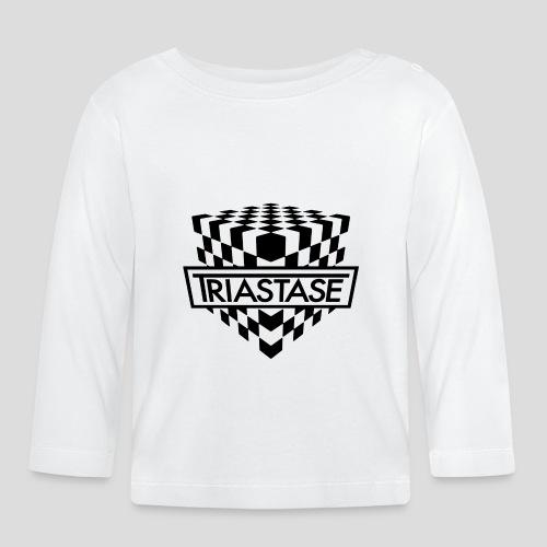 Triastase Logo Black - Baby Long Sleeve T-Shirt