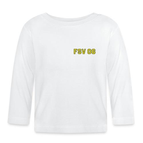 Hildburghausen - FSV 06 Stick Optik-(Logo klein) - Baby Langarmshirt