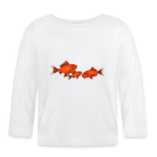 Poissons rouges - T-shirt manches longues Bébé