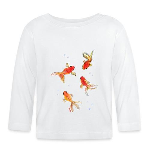 Slöjstjärt större - Långärmad T-shirt baby