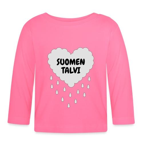 Suomen talvi - Vauvan pitkähihainen paita
