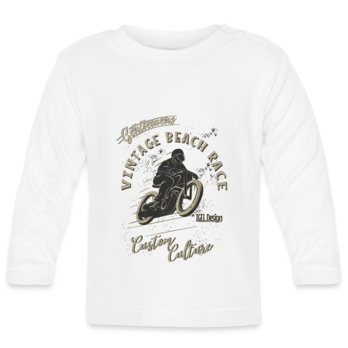 Gentlemans Beach Race Neu - Baby Langarmshirt
