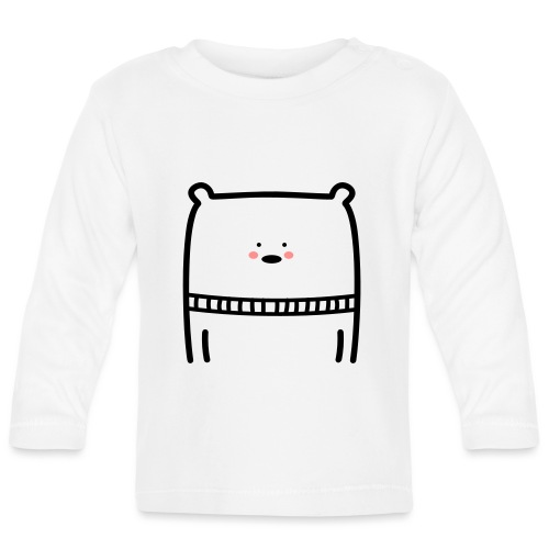 Bär - Baby Langarmshirt
