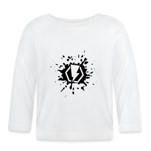 00406 Blitz splash - Camiseta manga larga bebé