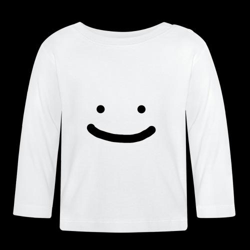 Smile - Koszulka niemowlęca z długim rękawem