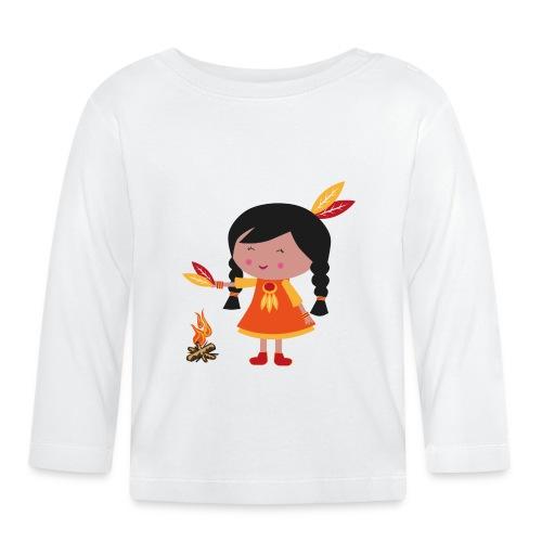 Happy Meitlis - Amerika - Baby Langarmshirt
