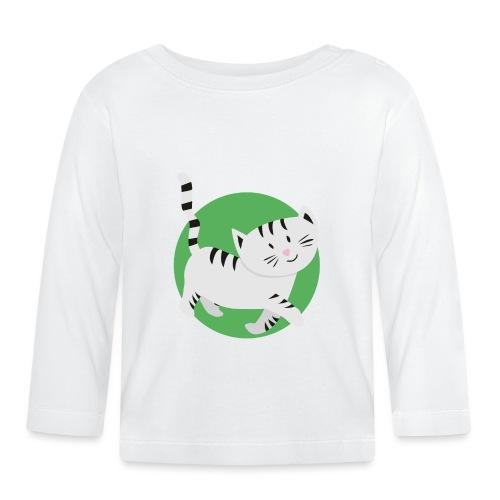 Katze Mimi Miau - Baby Langarmshirt