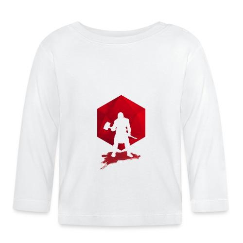 Brutal Barbarian - Dungeons and Dragons dnd d20 - Vauvan pitkähihainen paita