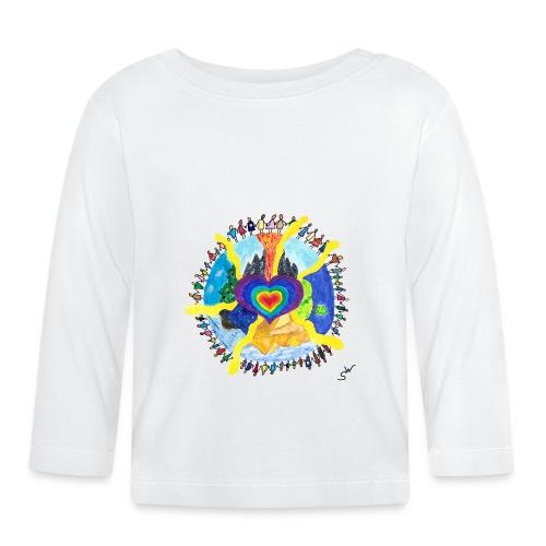 Herzwelt - Baby Langarmshirt
