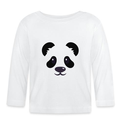 Panda émoticône - T-shirt manches longues Bébé