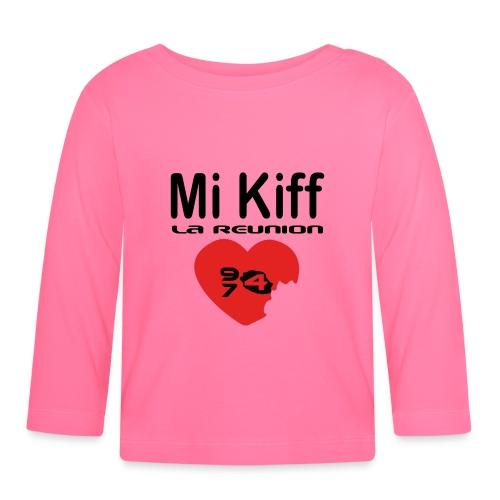 Mi Kiff La Réunion - T-shirt manches longues Bébé