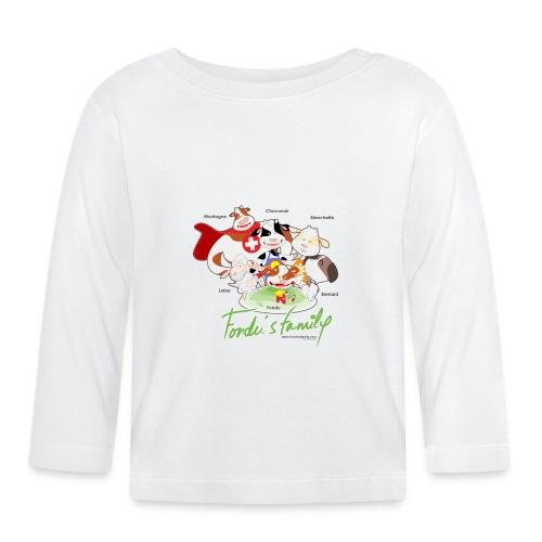 FF FAMILIE 01 - Baby Langarmshirt