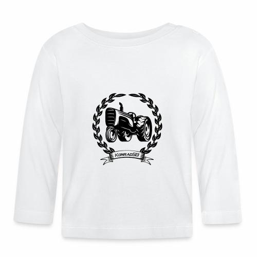 KonradSB - Koszulka niemowlęca z długim rękawem