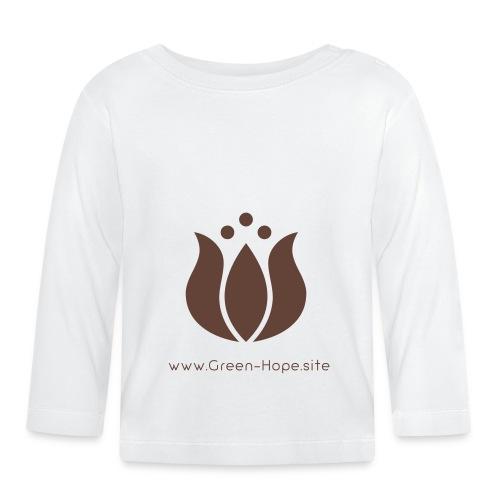 Logo GreenHope - T-shirt manches longues Bébé